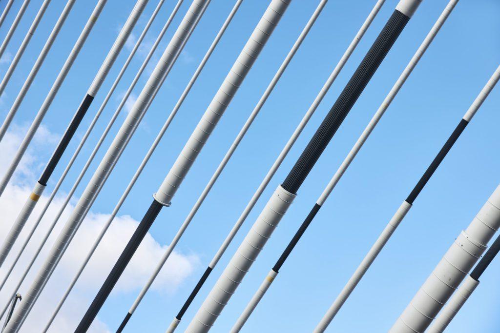 Pont à haubans (Automne 2018)